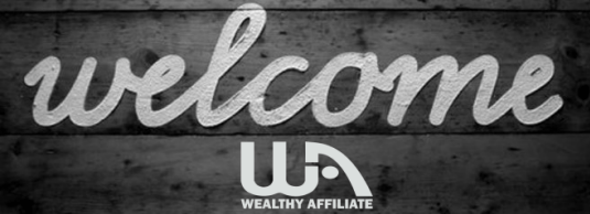 wealthy affiliate welcome logo