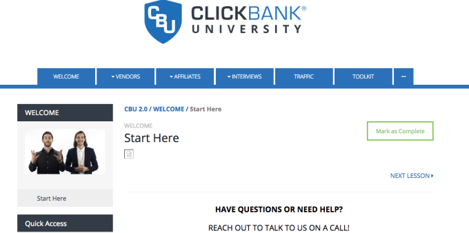 clickbank university 2.0 course introduction