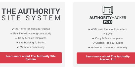 authority hacker affiliate training courses