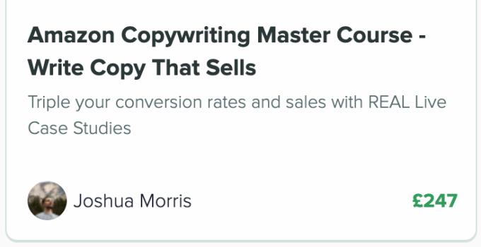 azon u copywriting upsell