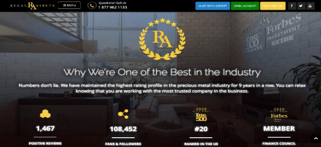 regal assets high paying partner program