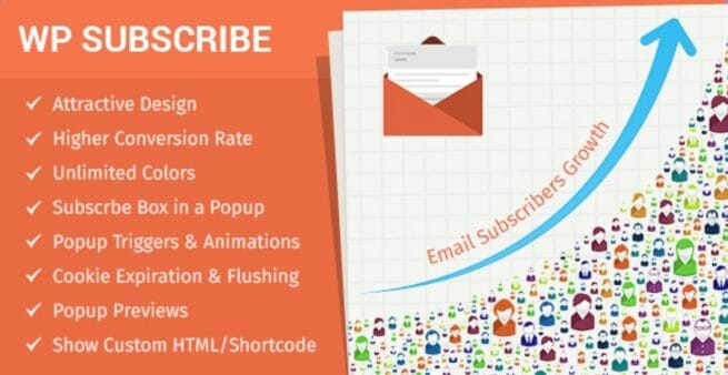wp subscribe pro email list building plugin