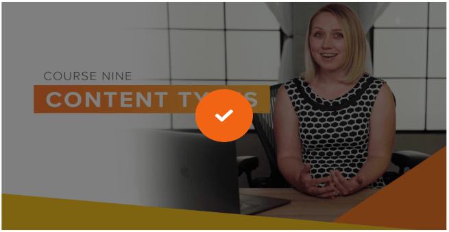 spark course 9 content types