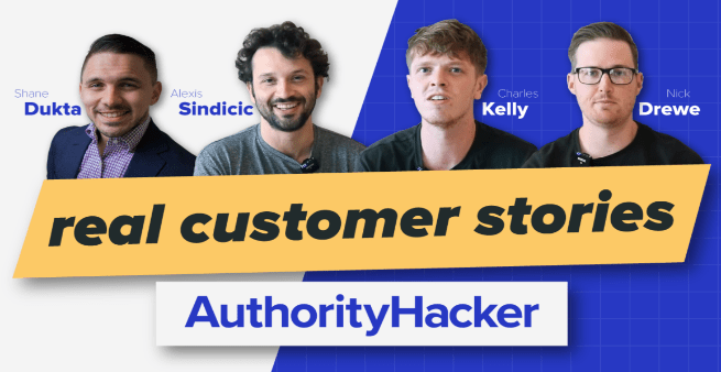 authority hacker customer successes