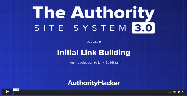the authority site system module 11 intro