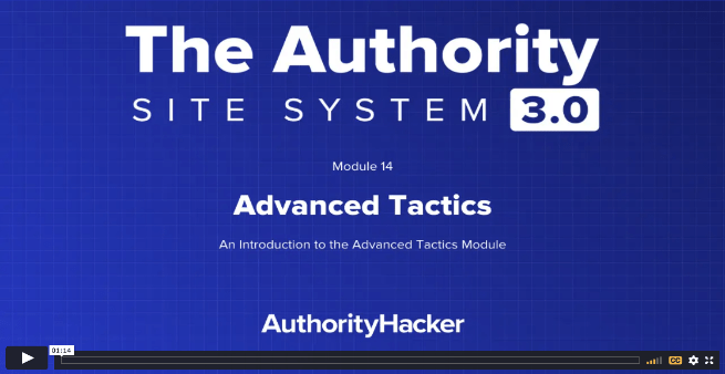 the authority site system module 14 intro