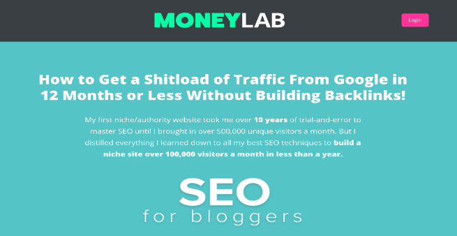 seo for bloggers course by money lab
