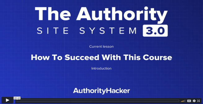 the authority site system intro
