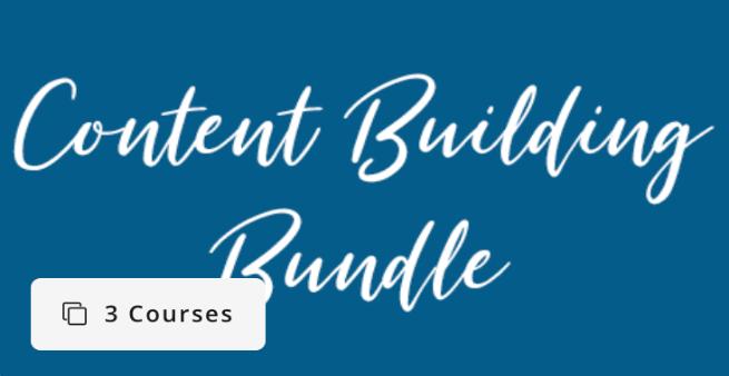 content building bundle