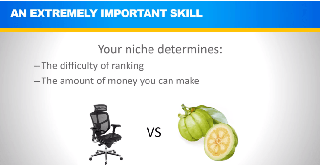 affiliate lab niche selection video image