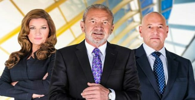 picture of the apprentice uk board members