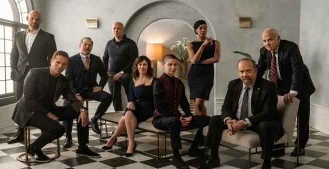 picture of cast of tv program billions