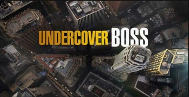 undercover boss business tv show
