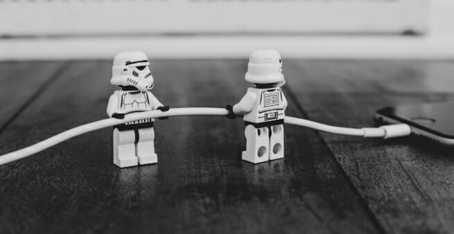 lego stormtroopers as proxy for what clickfunnels does