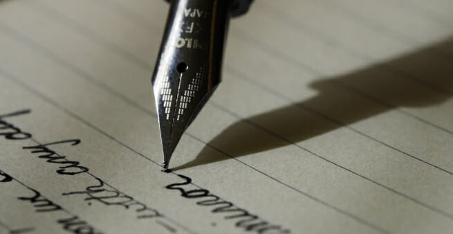 write for the love of writing
